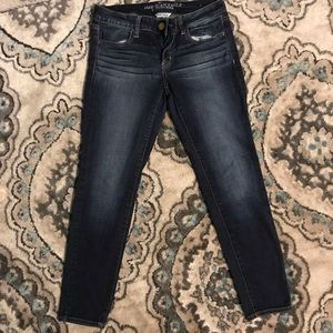 American Eagle Outfiters Jeggings SZ 8 denim